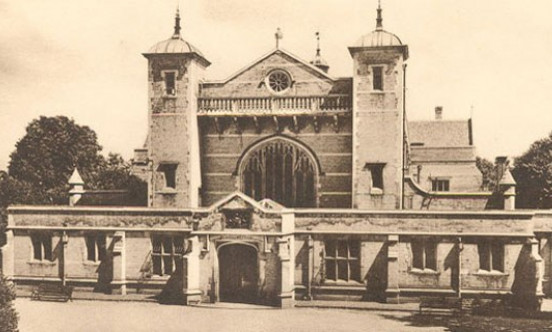 A picture of the old building of Harrow Arts Centre.