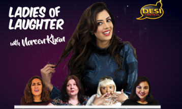Noreen Khan and the line up of her show, LOL