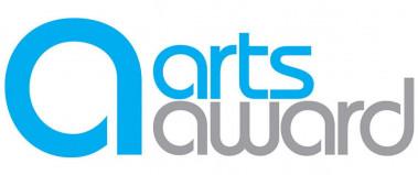 A logo for the arts award.