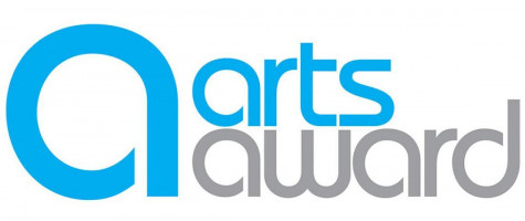 A logo for the arts award.