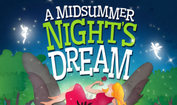 "The picture representing ""A midsummer Night's Dream"" event."
