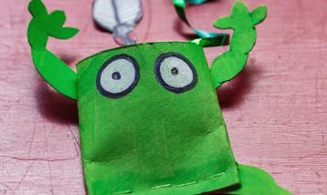 A worry muncher frog