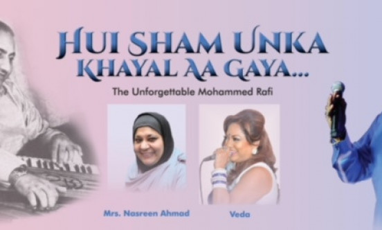 A picture of the Hui Sham Unka event and who is leading the event.
