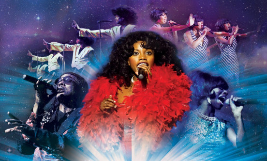 The cast from Magic of Motown