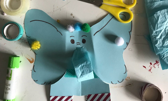 An example of an elephant craft