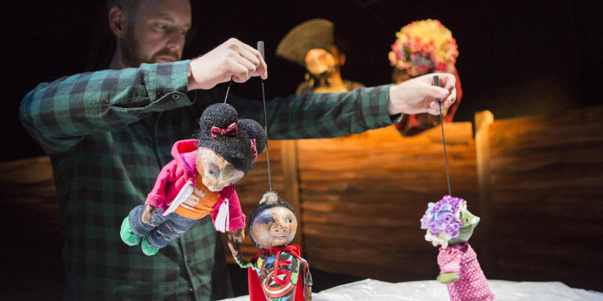 Puppets from Emily Rising