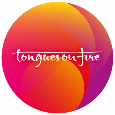 The Logo for Tongues on Fire
