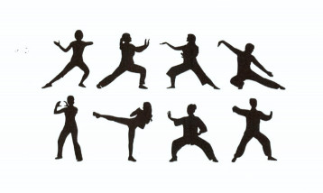 Illustration of tai chi movements