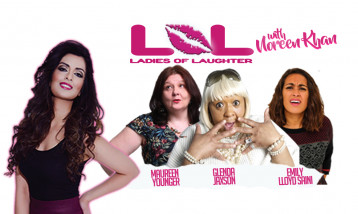 The all-female line up of Ladies of Laughter