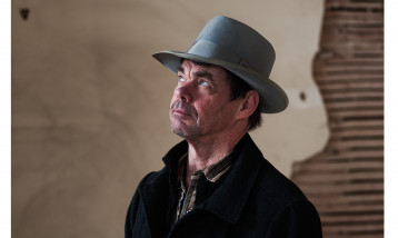 Rich hall in a Cowboy Hat